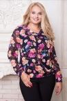 Женская блузка Симфония (ТМ All Posa)