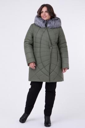 Куртка Паучок с искусственным мехом