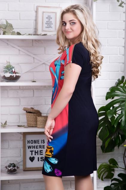 Платье Реглан